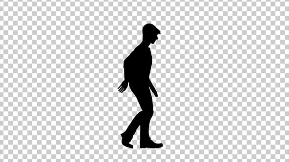 Moonwalk Silhouette Dancer by se5d | VideoHive