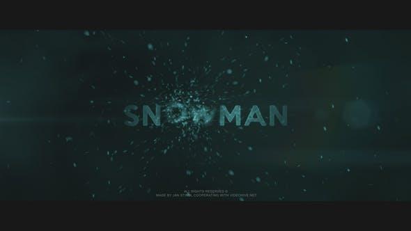 Videohive Snowman Free Download