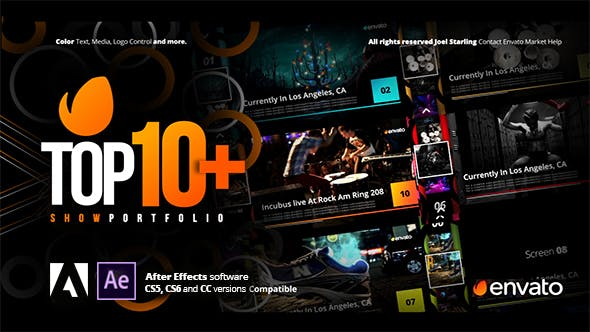 Videohive Top +10 Opener 21108606 – After Effects Project Files