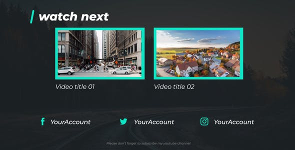 Videohive Youtuber Opener & Lower Thirds Package 21175976 Free