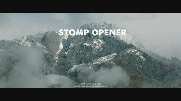 Videohive Stomp Opener 21215654 Free Download