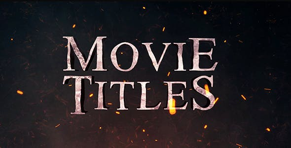 Videohive Movie Titles 21226201 Free Download