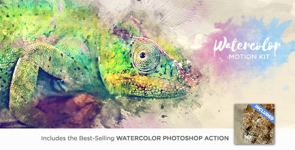 Watercolor Motion Kit by ThomasKovar | VideoHive