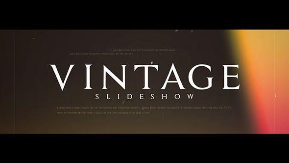 Videohive Vintage Slideshow 21234880 Free