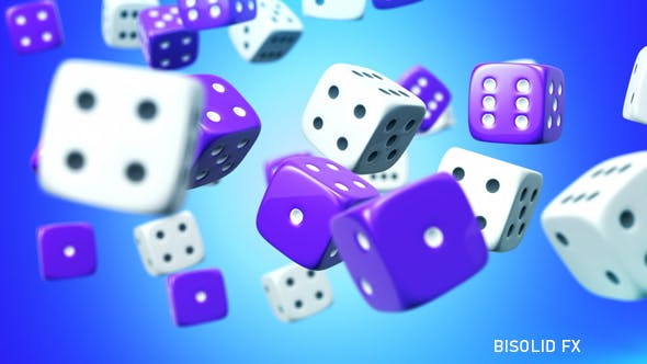 Dice Background by bisolid_fx | VideoHive