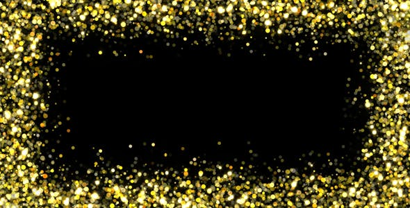 Glitter Frame by AS_100 | VideoHive