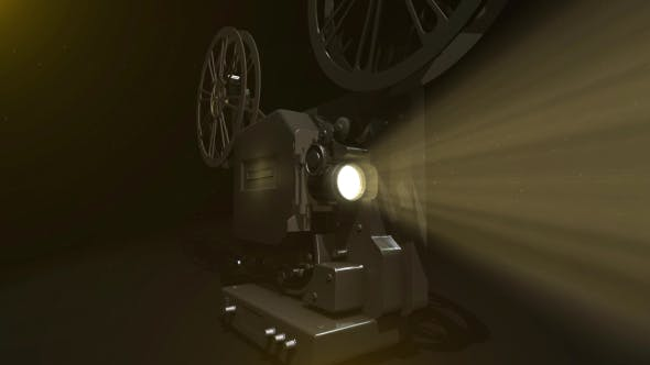 8mm Vintage Film Projector Pack (Pack of 6) by