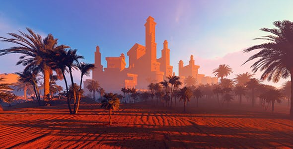 Mirage Auto Sales >> City Of The Mirage In The Desert by animix | VideoHive