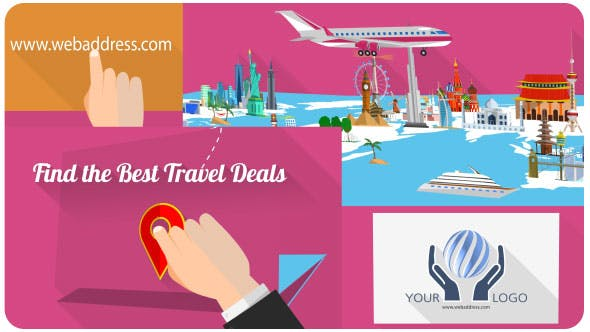 Travel Site / Travel Agency Promo by steve314 | VideoHive