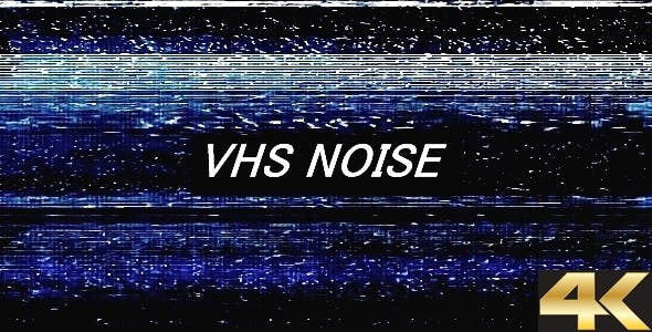 VHS Noise 4K by TopStyler | VideoHive