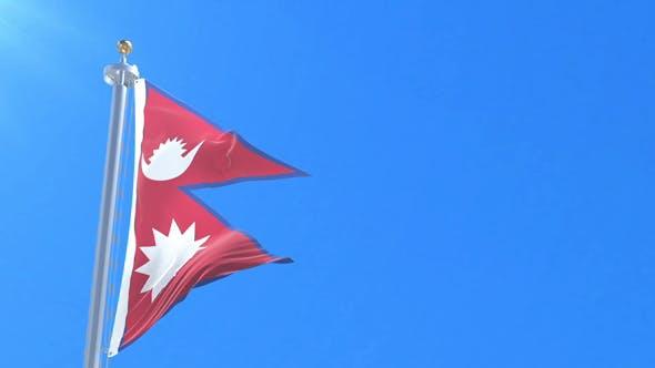 Nepal Flag Waving by IANM35 | VideoHive