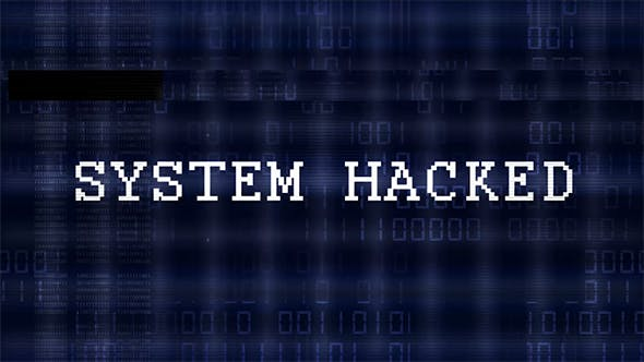 4K Glitch Digital Code - System Hacked by Z-video | VideoHive