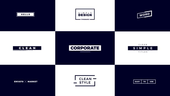 VideoHive |Corporate Titles