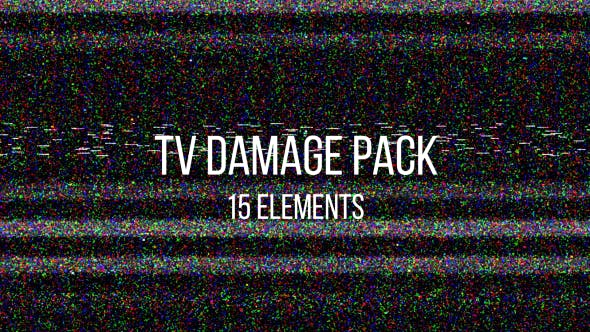 TV Damage Pack by Alexwish | VideoHive