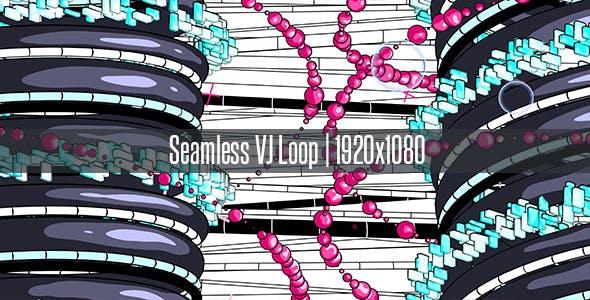 Cartoon VJ Loop by AnyMotion | VideoHive