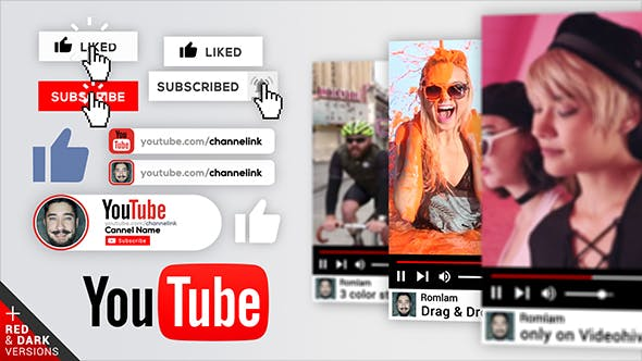 Fast YouTube Promo / Intro by romlam | VideoHive