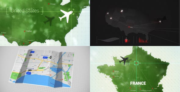3D Maps Location Zoom v1 by Accountable-Videos | VideoHive