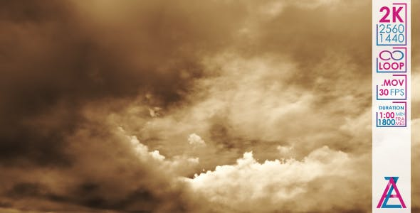 Sky Auto Sales >> Dark Brown Clouds on the Black Sky Before the Storm by ...