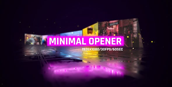 Videohive Minimal Openers/ Simple Slideshow/ Modern Museum/ Stylish Intro/ Bright 3D Camera Move/ Neon Mood Free Download