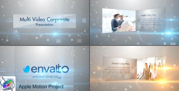 Multi Video Corporate Presentation - Apple Motion by