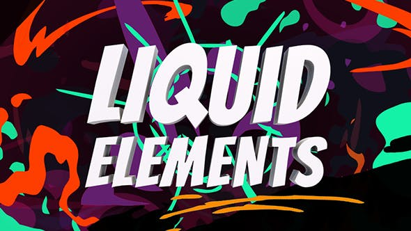 Liquid Elements by YashkovskiyMD2 | VideoHive