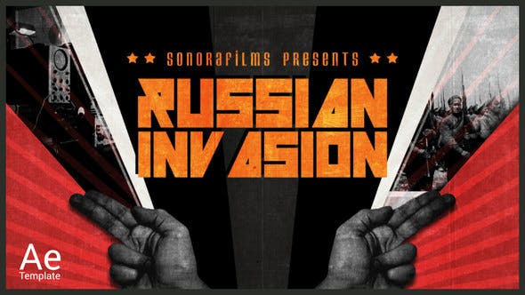 Russian Invasion by sonorafilms | VideoHive