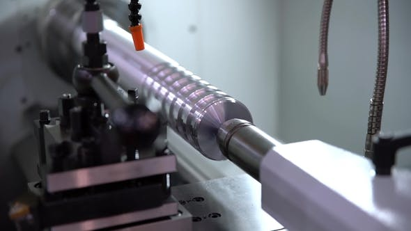 Metalworking CNC Milling Machine  by cookelma | VideoHive