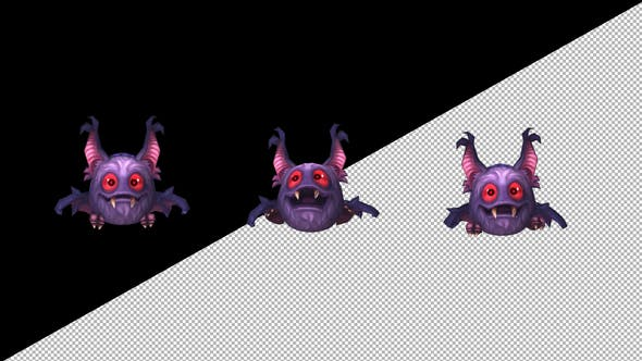Twitch Emote - Mini Monster by Handrox-G | VideoHive