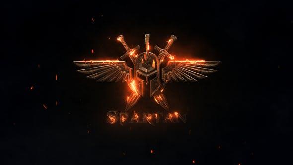 Spartan Logo Reveal by ALEXPROZ | VideoHive