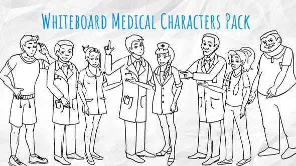 Medical Characters - Healthcare Whiteboard Animation by Doodle-Animation