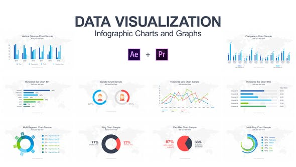 Data Visualization - Infographic Charts and Graphs by DEM-G