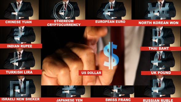 Wolrd Currencies Symbols by steve314 | VideoHive