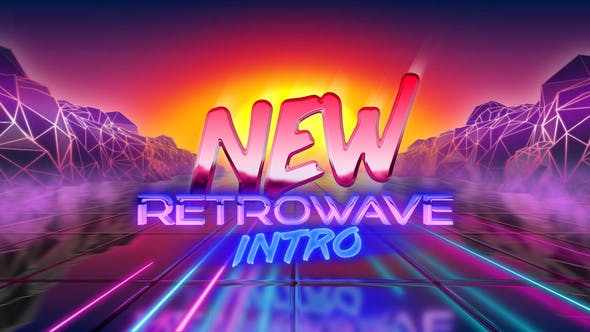 New Retrowave Intro by NickTheCaptain | VideoHive
