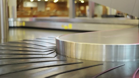 Airport Conveyor Belt for Luggage by DIProduction | VideoHive