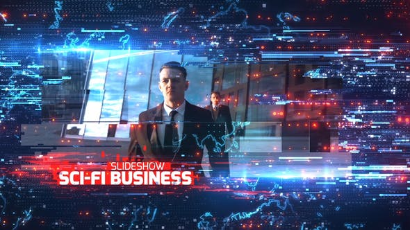 Videohive Sci-Fi Business Slideshow Free Download