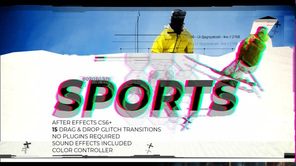 Glitch Sports by maxafter1 | VideoHive