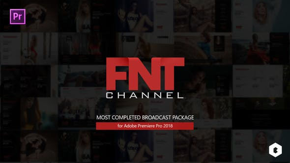 FNT Broadcast Package for Adobe Premiere Pro - VideoHive product image