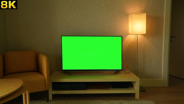 Green Screen Television at Home by Pro-Stock | VideoHive