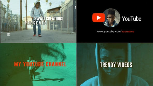 40+ Best YouTube Channel Promo Templates for After Effects