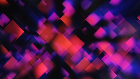 Clean Abstract Blue And Red Geometrical Background By