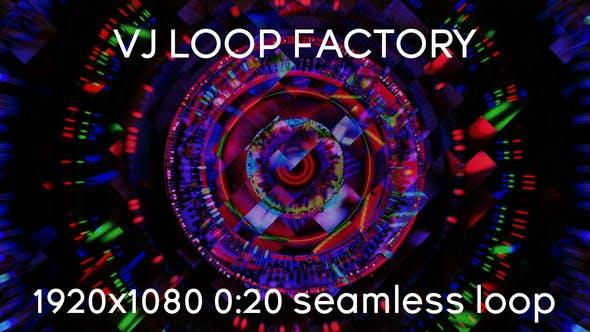 VJ Loops Factory Spiral Loop by motionfuture | VideoHive