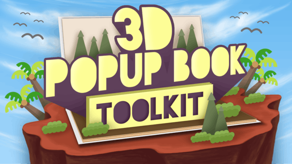 3d Popup Book Toolkit Apple Motion Final Cut Pro X By