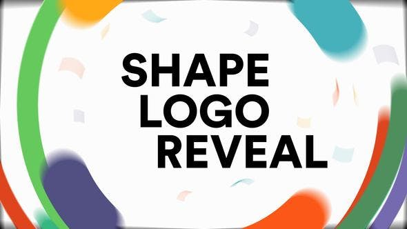 Videohive Shapes Logo Reveal 22053946 Free Download