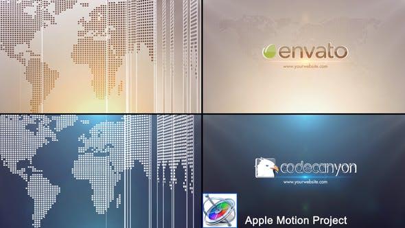 Global Business Logo - Apple Motion by StrokeVorkz | VideoHive
