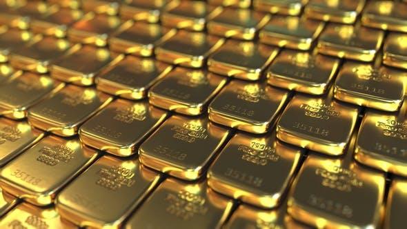 One Kilo Gold Bars By Moovstock Videohive