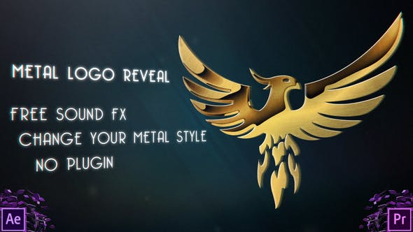 Metal Logo Reveal - VideoHive product image