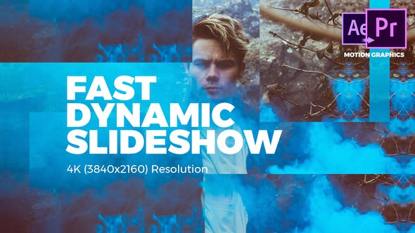 Fast Dynamic Slideshow - VideoHive product image
