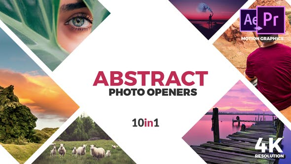 Abstract Photo Openers - Logo Reveal - VideoHive product image