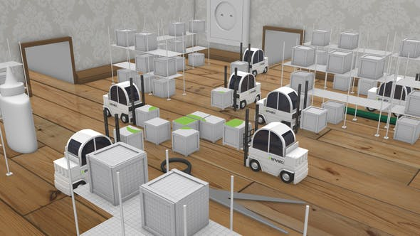Videohive Paper Logistic Company Opener Free Download