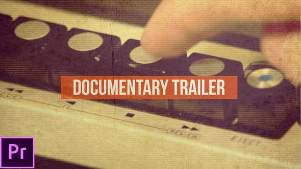 VHS Documentary Trailer - VideoHive product image
